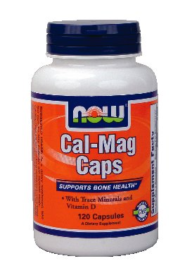 Now Foods Cal-Mag, 120 Capsules-Comte
