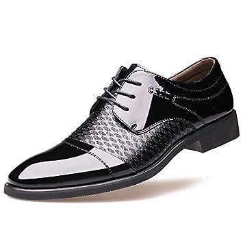 LOVDRAM Zapatos De Hombre Sand Shield Otoño Zapatos De Vestir De Negocios Hombres Puntiagudos Zapatos De Hombre Transpirables Ocasionales Zapatos Bajos: ...