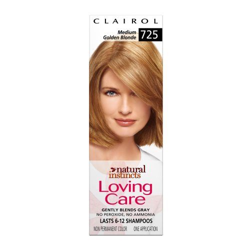 Clairol Natural Instincts Loving Care Color, 725 Medium Golden Blonde (Pack of - Natural Color Reviews Instincts Hair