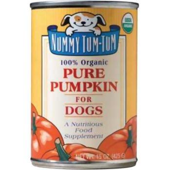 Nummy Tum Tum Pure Pumpkin Canned Dog Food Case, My Pet Supplies