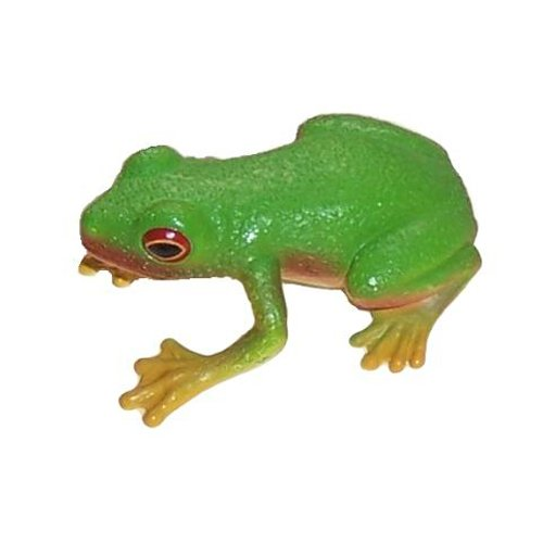 Animal Replicas (Science and Nature 75342 Australian Red-Eyed Green Tree Frog - Animals of Australia Realistic Toy Replica)