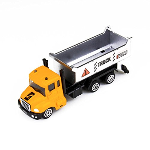 Low Cost ManxiVoo 164 Alloy Simulation Engineering Vehicles Toy Mining Car Truck Boy