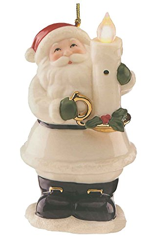 Lenox Blow Out The Lights Christmas Tree Ornament and Light -