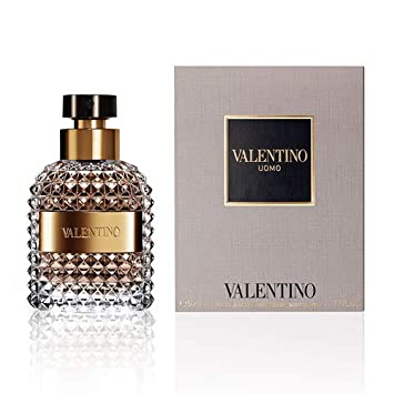 Valentino Uomo Eau de Toilette Spray for Men, 1.7 Ounce