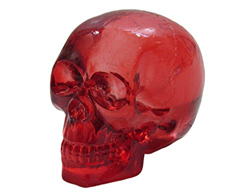 Kool Gear - Clear Red Skull Head Shift Knob / Decor
