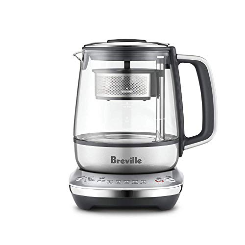Breville the Tea Maker Compact 34oz One-Touch Automatic Electric Tea maker & Kettle - BTM700SHY1BUS1 ()