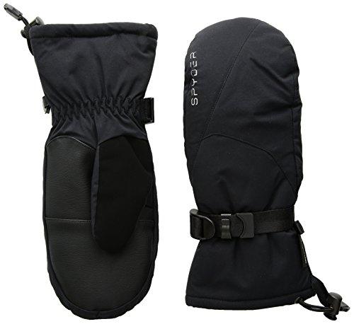 Womens Mitten Tex Gore (Spyder Women's Traverse Gore-Tex Ski Glove, Black/Silver, Large)