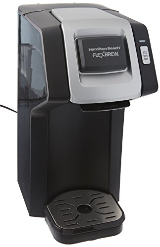 Hamilton Beach FlexBrew SingleServe Coffee Maker for KCups and
