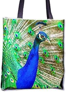 89b319a14 Bolsas para bolsitas de pavo real, pájaros, plumón, exóticas, brillantes y  estampadas, populares, bolsas de bolsos para mujer, bolsa de bolso  profesional, ...