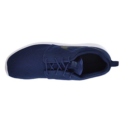Nike Rosherun Heren Schoenen Midnight Navy / Zwart Wit 511881-405