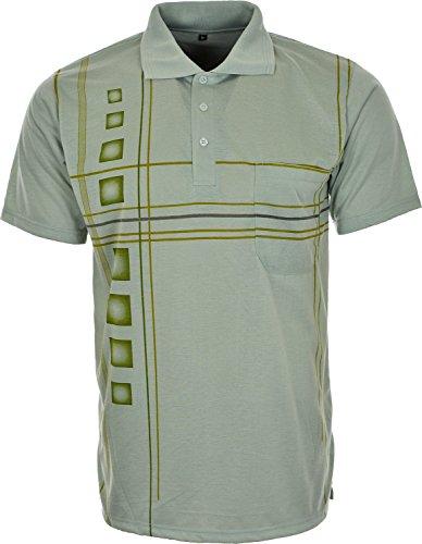 Lucky Brand - Polo - Clásico - para hombre Verde
