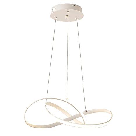Colgante lámpara LED 48 W regulable moderna personalidad ...