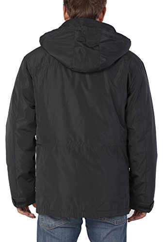 Black In 1 3 Down Men's Parka