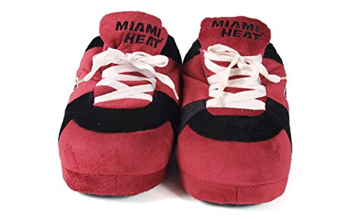 Feet NBA Heat Miami Happy Comfy Womens and Slippers and Mens OFFICIALLY Sneaker Feet LICENSED Ozz7wq