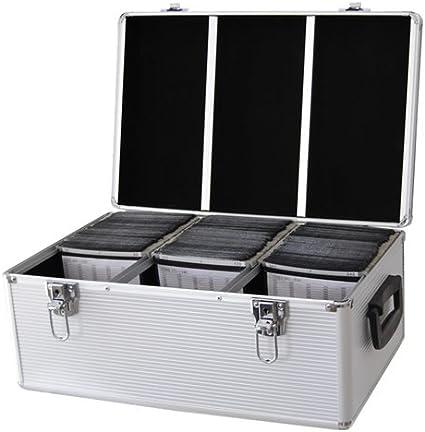 DynaSun CD 510 DVD DJ Vuelo Caja Aluminio Sujetador Disco Caja ...