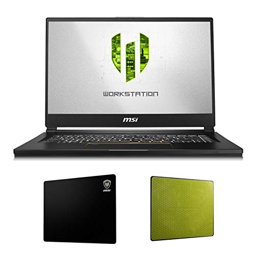 "MSI WS65 9TL-685 (i9-9880H, 32GB RAM, 1TB NVMe SSD, NVIDIA Quadro RTX 4000 8GB, 15.6"" Full HD, Windows 10 Pro) VR Ready Workstation Laptop"
