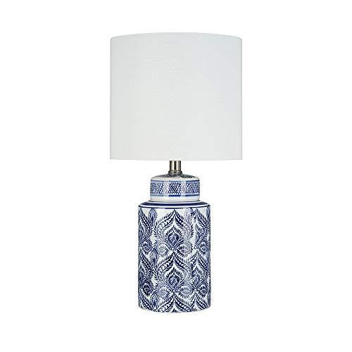 Ravenna Home Global Ceramic Table Lamp, Bulb Included, 20