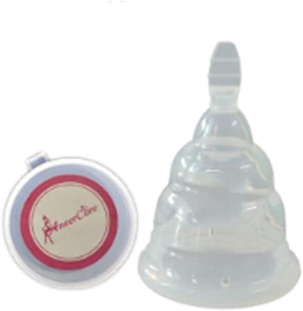 Copa Menstrual Pura Transparente Blando y Duro Ajustable de ...