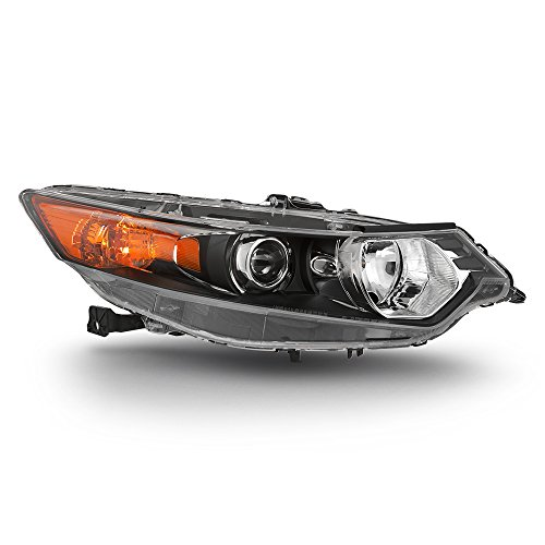 ACANII - For [HID Type] 2009-2014 Acura TSX Headlight Headlamp Front Head Light Lamp - Replacement Passenger Side Only Acura Tsx Headlight Assembly