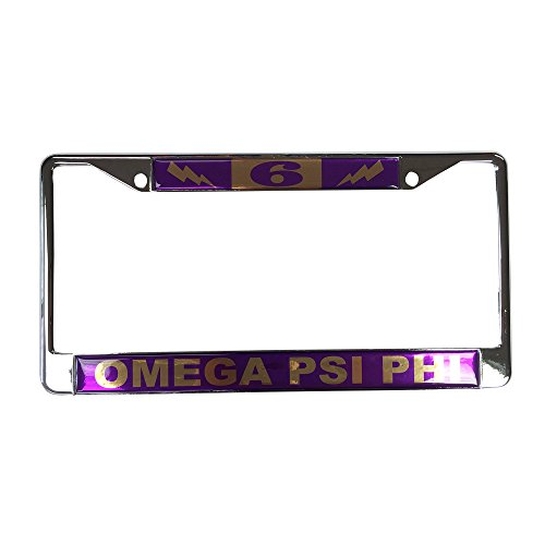 Omega Psi Phi License Plate - 4