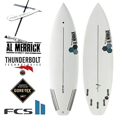 アルメリック サーフボード フレッドスタブル/AL MERRICK FRED STUBBLE XEON ショートボード チャンネルアイランド サンダーボルト サーフィン B07JM5GGFT A(バルブあり) 5'8/CFS58-XE