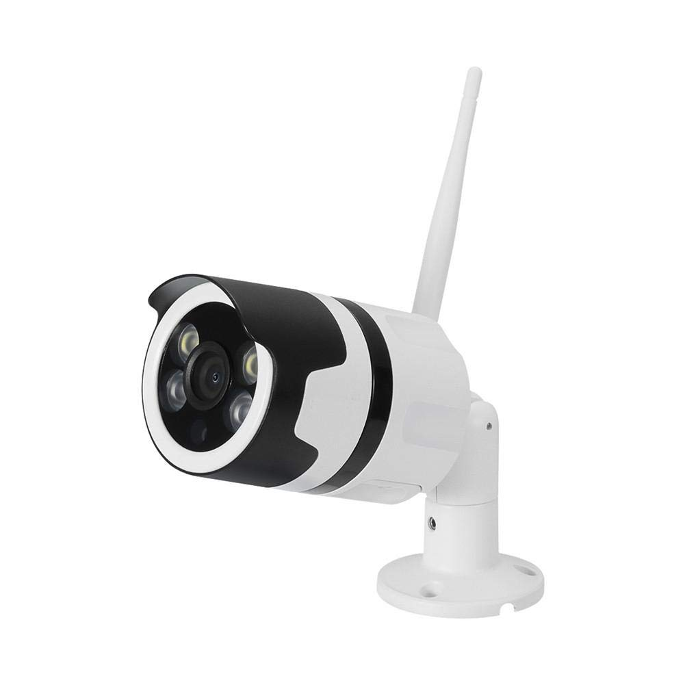 Outdoor Security Camera Wireless IP Surveillance Camera Channel Security Camera IP66 Waterproof, Night Vision, Motion Detection,Suitable for Indoor and Outdoor, Supports up to 64GB SD Card