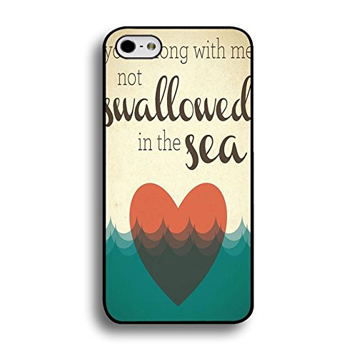 Iphone 6 / 6s ( 4.7 Inch ) Coldplay Hybrid Cover Shell Unique Heart With Sea Design Britpop/Alternative Rock Band Coldplay Phone Case Cover for Iphone 6 / 6s ( 4.7 Inch )