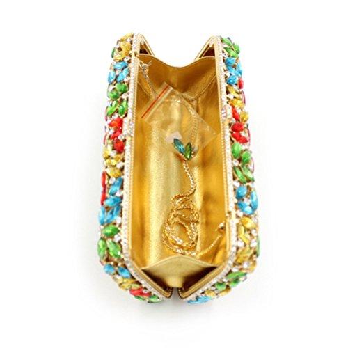 De Mode Femme à Diamant Main Sac De Soirée Gamme A De Sac Sac Diamant Haut Banquet qY4fx5w