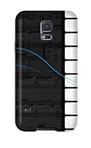 Excellent Design Amazing Piano Case Cover For Galaxy S5