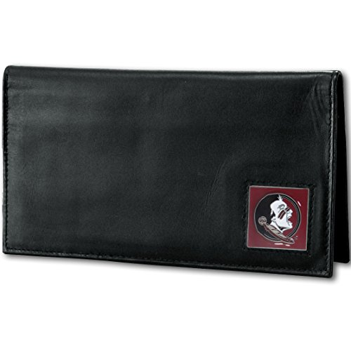State Card Florida Credit (NCAA Florida State Seminoles Deluxe Leather Checkbook Cover)