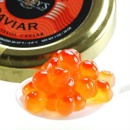 Marky's Salmon Ikura Caviar, Keta Chum – 1 oz