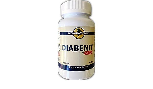 Amazon.com: DIABENIT - Revertir Diabetes,Funcion Metabolica - Dr. NIE - Somos Natura - 120 Capsules: Health & Personal Care