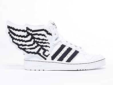 adidas Jeremy Scott Wings 2.0 Pixel Running White/Black G95769 (SIZE: 8.5)