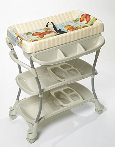 Premium Baby Spa Bathtub and Changing Table Stations Combo & Bib and Burp Set by Primo