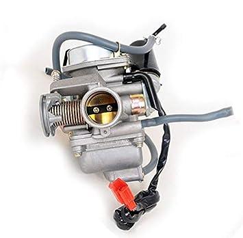 Carburetor compatible with Kandi ATV Go-kart KD-150GKA-2 KD-150FS  KD-150GKH-2 KD-150GKM-2 KD-150GKR KD-200GKA-2 KD-200GKM-2 KD-200GKH-2  KD-200GKJ-2