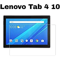 "M.G.R.J® Tempered Glass for Lenovo Tab 4 10"" - Full Screen Coverage & Easy Installation Kit"