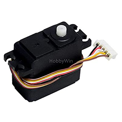 HBX Part 12030 5-Wire Steering Servo 1P for HAIBOXING 1/12 RC Buggy Car Truck 12881: Toys & Games