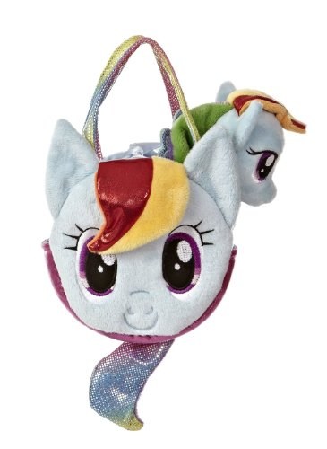Aurora World My Little Pony Rainbow Dash Pony Tail Carrier (Colors May (Color A Pony Purse)
