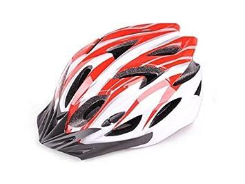 Blueqier Deportes Casco de Montar en Bicicleta Ajustable Súper Ligero Ajustables Múltiples Orificios de Ventilación Grandes