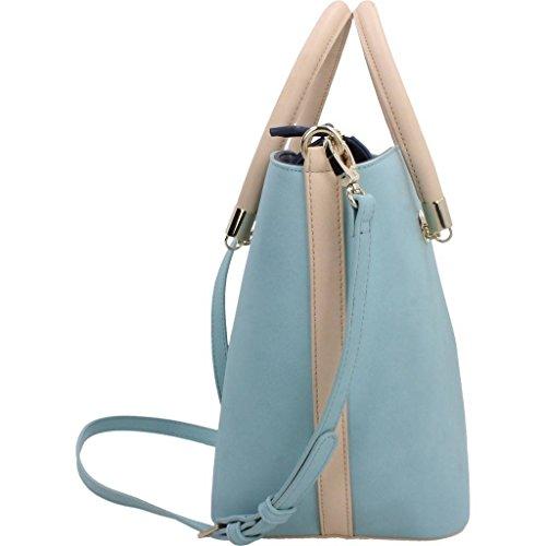 Modelo Shoppers Azul Mujer Valentino Y Hombro Vbs1pn01 Color Azul Marca Bolsos Valentino Mujer Para De q4rv6q