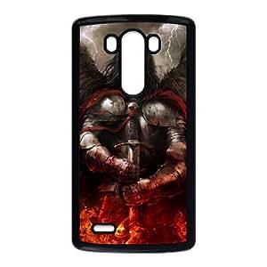 LG G3 Phone Case Undead Sword Books Fire Lightning N8U7868129