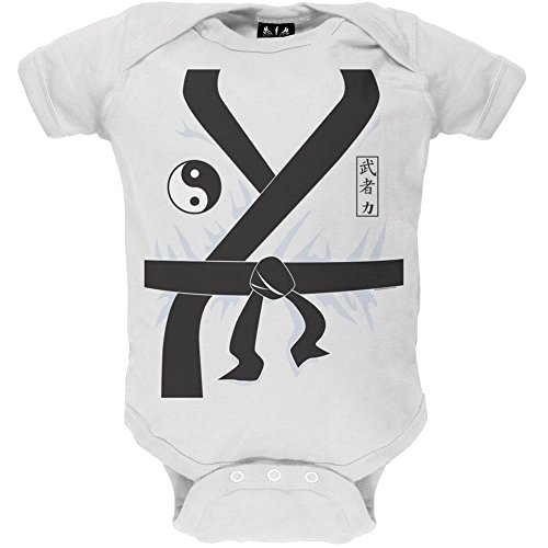 18-24 Month Old Girl Halloween Costumes (Karate Kid Costume Baby One Piece - 18-24 months)