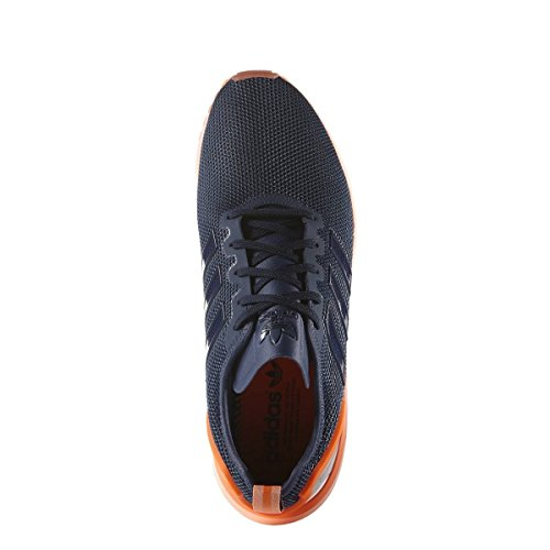 Uomo Adidas Scarpe Low Adv Blu top Flux Zx gwpngqU1