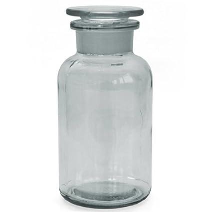 3 x farmacia Botella 500 ml – Color: Borrar – Incluye tapón de cristal *