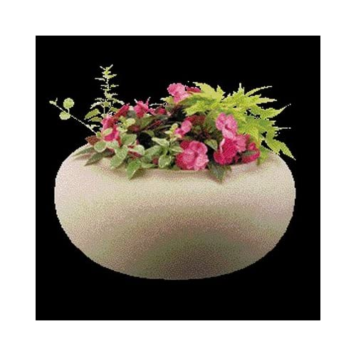"""Akro Mils Rz.Gh210g21 21"""" Granite Garden Hose Pot & Planter"""