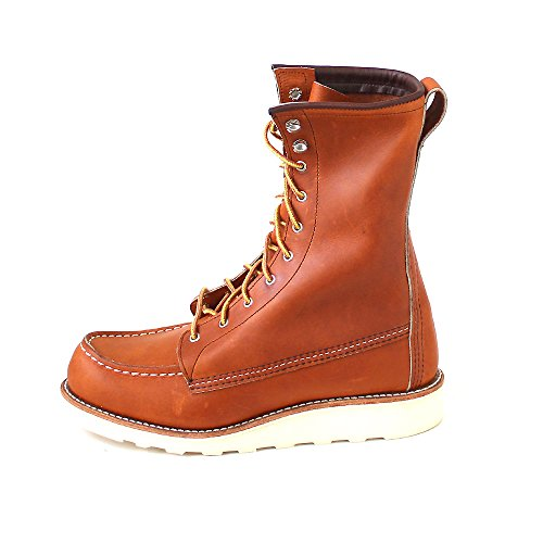 Red Wing Womens 8 Inch Moc 3427 Leather Boots Braun (oro legacy) 6ASyKkx