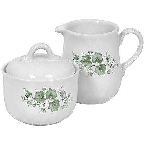 Corelle Coordinates Callaway Sugar and Creamer Set