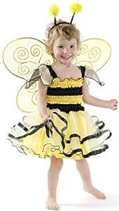 Grandes imitaciones -  Disfraz de abeja para niña (de 2/4 años)