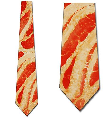 Bacon Tie Mens Meat Neckties by Ralph - Ralph Mens Necktie Marlin