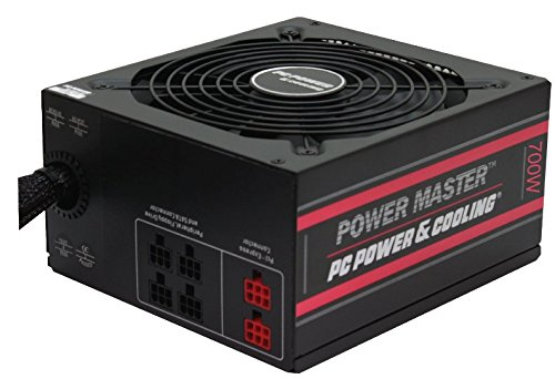 PC Power & Cooling's Power Master Series 700 Watt, 80 Plus Bronze, Semi-Modular, Active PFC, Industrial Grade ATX PC Power Supply, 3 Year Warranty, FPS0700-A2S00 by PC